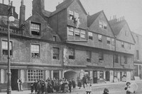 Marquis Of Huntleys House Canongate Edinburgh 1920s
