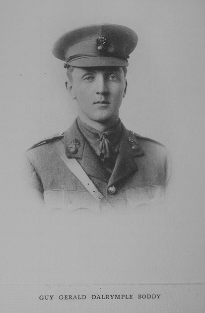 UK Photo Archive: Rugby Roll Of Honour Vol 3 1914-1918 &emdash; Boddy G G D 2nd Lt 4th Royal Fusiliers