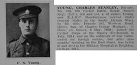 Young C S Pte 336 6th Royal Sussex Regiment Obit De Ruvignys Roll Of Honour Vol 1