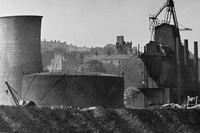 Prudhoe Castle And ICI Works Northumberland 1940s