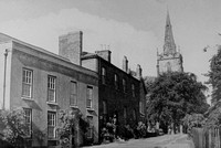 Market Bosworth Leicestershire 1940s
