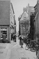 St Edwards Passage Cambridge 1950s