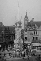 The Clock Tower Leicester 1940s