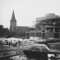 Building The Civic Offices And Library Sutton 1970s