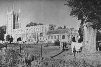 Long Melford Suffolk 1930s