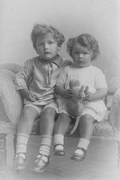 A Brother And Sister c.1900