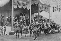 The British Empire Exhibition Wembley 23rd April 1924