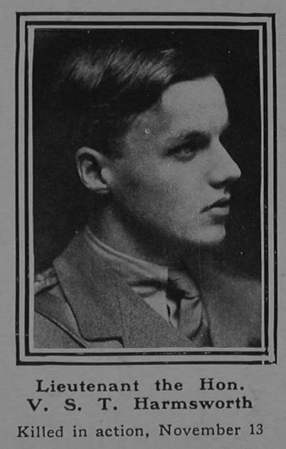 UK Photo Archive: H &emdash; Harmsworth V S T Lt Hawke Bn. R.N. Div. Royal Naval Volunteer Reserve The Sphere 2nd Dec 1916
