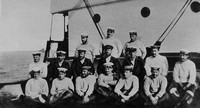 Holbrook Lt VC Fourth From The Left In Second Row And Crew Of B11
