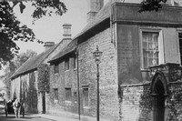 Old Houses In Grantham 1940s