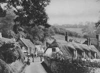 The Village Of Holford 1920s