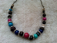 Accessorize Colourful Bead Nacklace