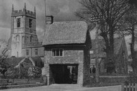 The Church Entrance Long Compton Warwickshire 1930s