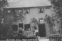 Ditton Hill Post Office Surrey c.1910