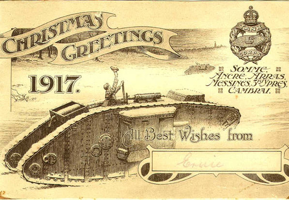 Christmas Greetings 1917