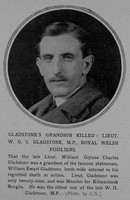 Gladstone W G C Lt MP 1st Royal Welsh Fusiliers