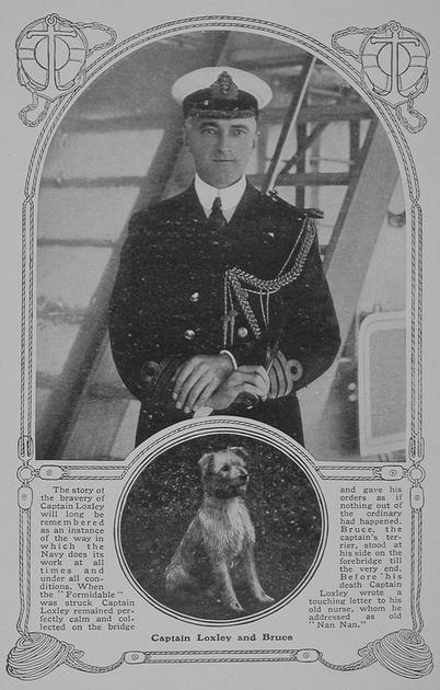 UK Photo Archive: L &emdash; Loxley Captain HMS Formidable RN Sphere 16th Jan 1915