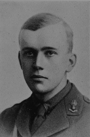 UK Photo Archive: Dulwich College War Record 1914-1919 &emdash; Young A E F 2nd Lt Royal Garrison Artillery