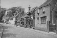 Bramber Village Sussex 1920s